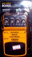 Behringer Bass Chorus pedal BCH100.