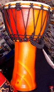 "Djembe 9"" Synthetic finnish"