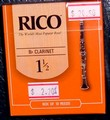 Rico clarinet 1.5