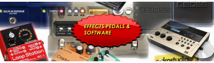 Effects Pedals & Software