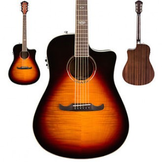 Fender T Bucket 300CE Flame Maple Acoustic