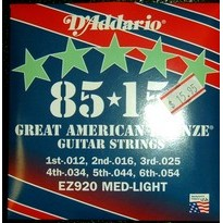 D'Addario Acoustic Steel Strings EZ920