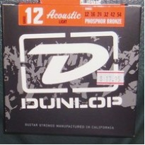 Jim Dunlop acoustic strings 12