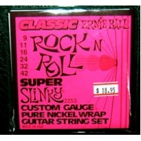 Ernie Ball Rock & Roll Electric Strings 9-42
