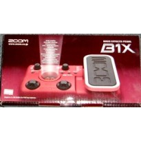 Zoom B1X Bass and drum effects pedal