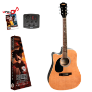 Redding RED50CELH Dreadnought Electric/Acoustic Guitar Left Hand